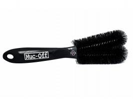 Muc Off Two Prong Brush | black