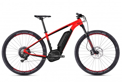 Ghost HYBRIDE Teru B7.9 AL - Neon red