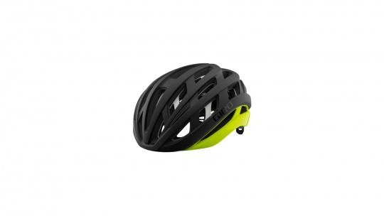 Giro Fahrradhelm Helios Spherical | m black fade/highlight yellow