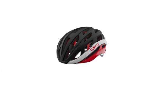 Giro Fahrradhelm Helios Spherical | matte black/red
