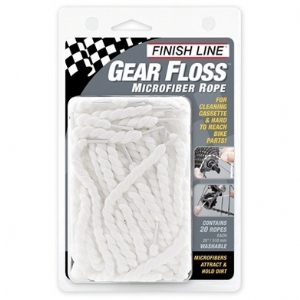 Finish Line Gear Floss/Microfaser Reinigungsfäden