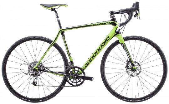Cannondale SYNAPSE HI-MOD SRAM RED DISC (GRN)