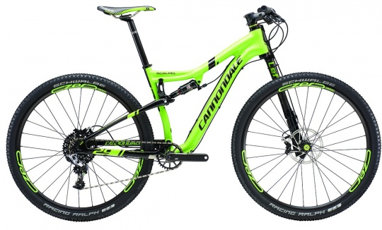 Cannondale SCALPEL 29 CARBON RACE Komplettrad