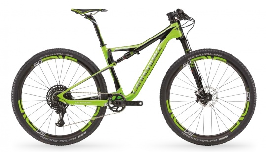 Cannondale SCALPEL SI HM TEAM GRN Komplettrad