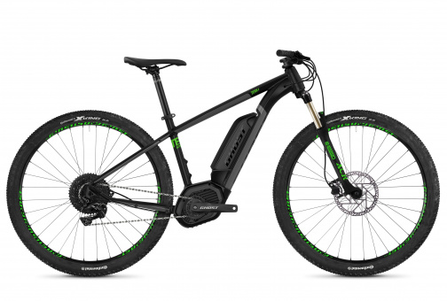 Hybride Teru B4.9 AL U | Uni jet black / urban gray / riot green