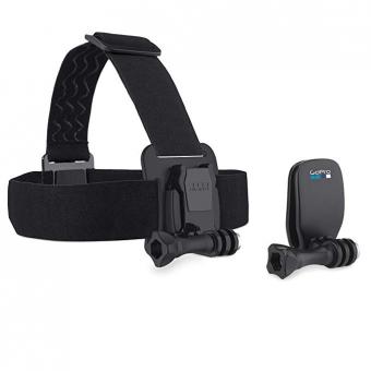 GoPro Headstrap+QuickClip - geeignet für alle GoPro Kameras (Offizielles GoPro-Zubehör)