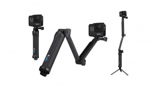 GoPro 3-Way Griff Arm Stativ (Offizielles GoPro-Zubehör)