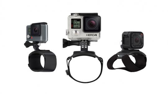 GoPro The Strap Arm, Leg, Wrist, Hand Mount (Offizielles GoPro-Zubehör)