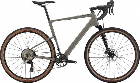Cannondale Topstone Carbon Lefty 3 - 2021 | Stealth Grey