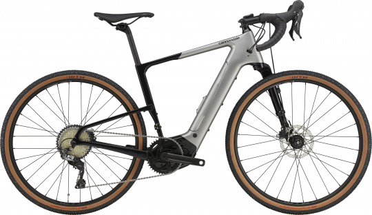 Cannondale Topstone Neo Carbon Lefty 3 - 2021 | Grey
