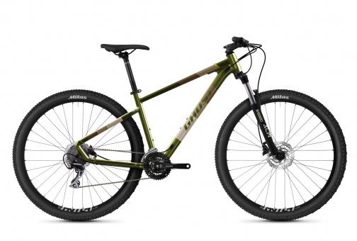 GHOST Kato Essential 29 AL U - 2021 | green/gray/tan