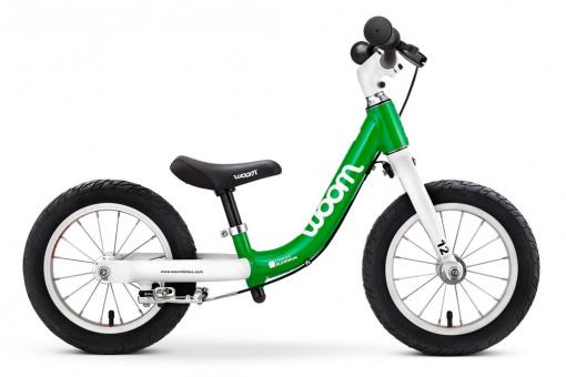 Kinderlaufrad Woom 1 | 12 Zoll - grün