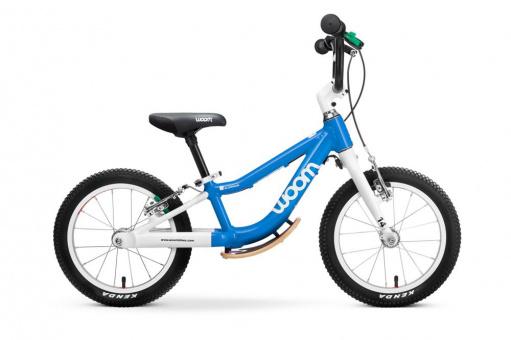 Kinderlaufrad Woom 1+ | 14 Zoll - blau Plus