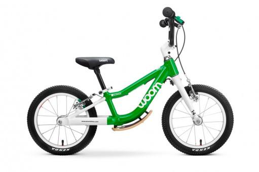 Kinderlaufrad Woom 1+   14 Zoll - grün Plus