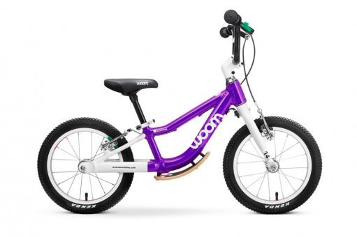 Kinderlaufrad Woom 1+ | 14 Zoll - lila Plus