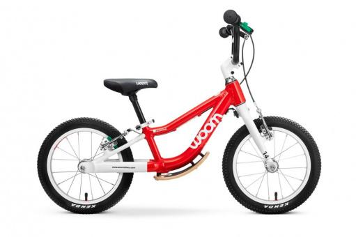 Kinderlaufrad Woom 1+ | 14 Zoll - rot Plus