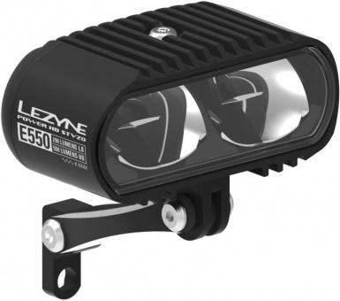 Lezyne LED Fahrradbeleuchtung Power HB StVZO E550 Vorderlicht