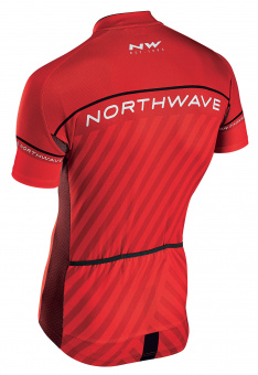 Northwave LOGO KID 3 JRS S/S | red/black