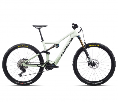 Orbea RISE M10 - 2021 | Sap White – Green Fog