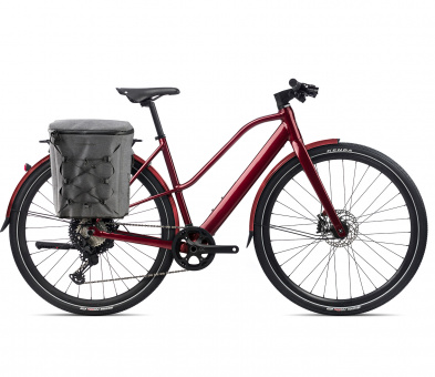 Orbea VIBE MID H10 EQ  - 2021 | Dark Red