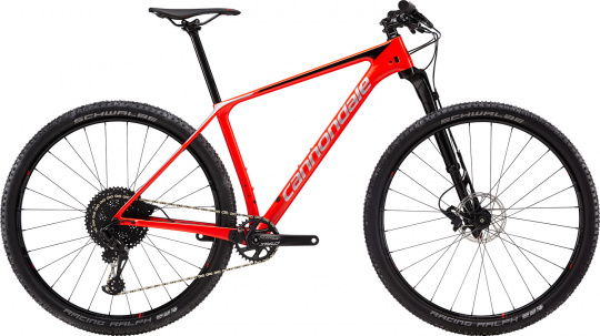Cannondale F-Si Carbon 3 - 2019 | Acid Red