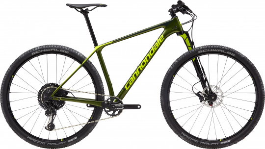 Cannondale F-Si Carbon 3 - 2019 | Vulcan Green