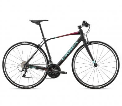 Orbea Speedbike Avant H40F | Schwarz-Rosa-Jadegrün