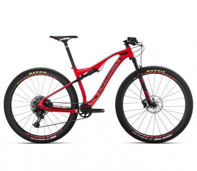 Orbea Mountainbike Oiz M50 2019 | rot-schwarz