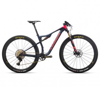 Orbea Mountainbike Oiz M-LTD 2019 | hellblau-rot