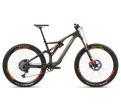 Orbea Rallon M-Ltd - 2020 | Green/Orange